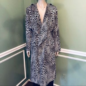 💥💥BADGLEY MISCHKA LEOPARD TRENCH COAT- size 10💥